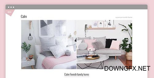 ThemeForest - Calm v1.0 - Premium Tumblr Theme - 22244510