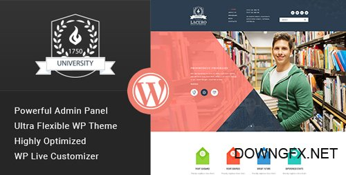 ThemeForest - Lacero v1.3 - Education & University WordPress Theme - 15671099