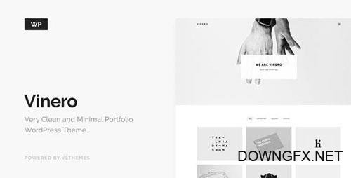 ThemeForest - Vinero v3.0 - Very Clean and Minimal Portfolio WordPress Theme - 16796397