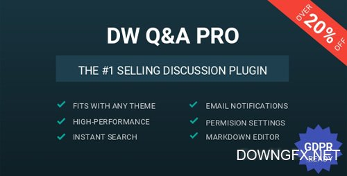 CodeCanyon - DW Question & Answer Pro v1.1.6 - WordPress Plugin - 15057949