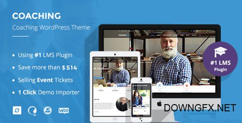 ThemeForest - Speaker and Life Coach WordPress Theme | Coaching WP v2.3.0 - 17097658 - NULLED