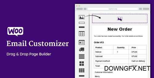 CodeCanyon - WooCommerce Email Customizer with Drag and Drop Email Builder v1.4.32 - 19849378