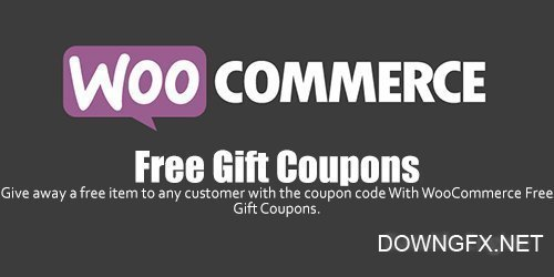 WooCommerce - Free Gift Coupons v2.1.1