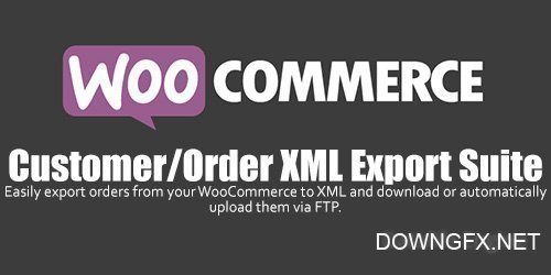 WooCommerce - Customer / Order XML Export Suite v2.4.0