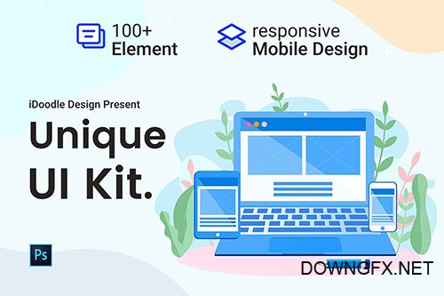 UI Kits Web Design & Mobile Responsive