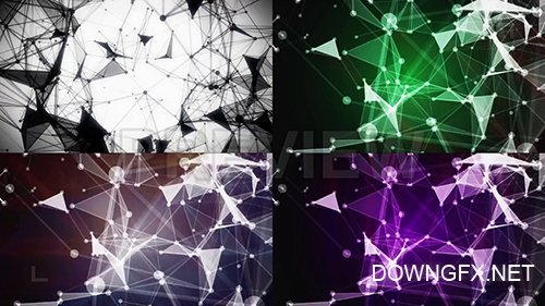 MA - Crystal Plexus Backgrounds Pack 98952