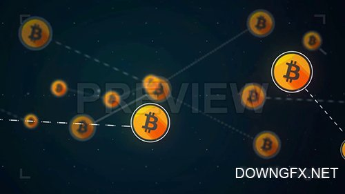 MA - Bitcoin Network Link Connection Loop 108625