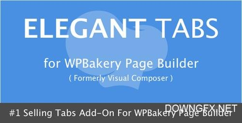 CodeCanyon - Elegant Tabs for Visual Composer v3.3.2 - 9598846