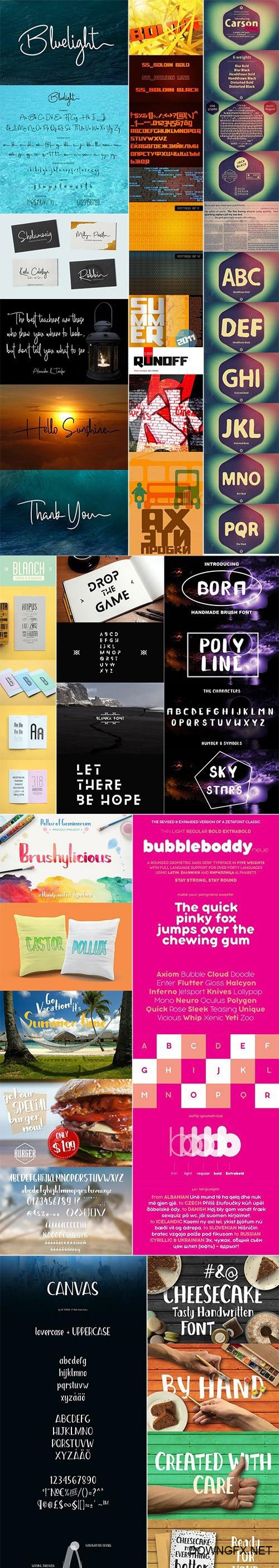 Mix Fonts Bundle 49