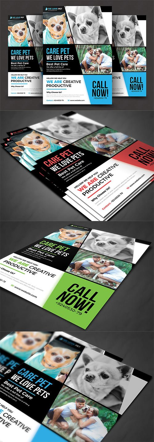 CM - Pet Shop Flyer Template 2906712[/b]