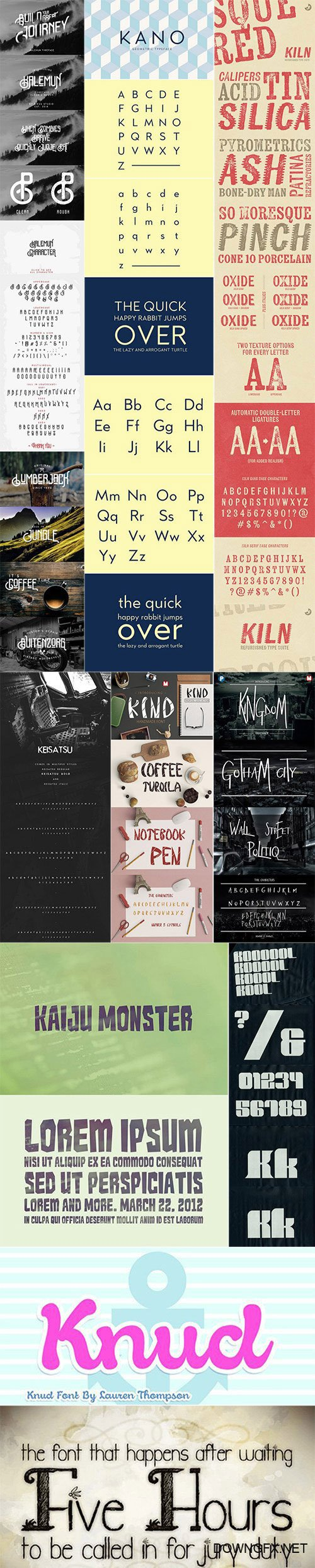 Mix Fonts Bundle 53