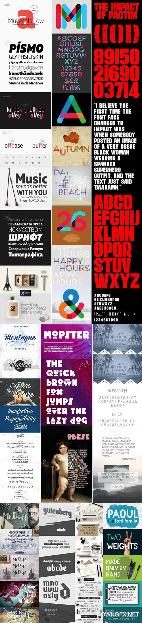 Mix Fonts Bundle 56