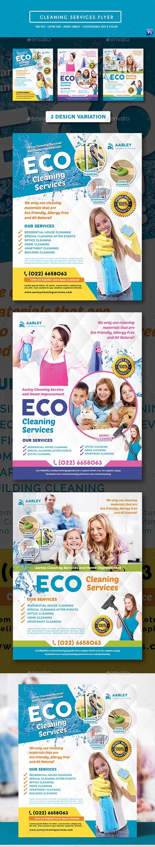 GR - Cleaning Services Flyer 19585464