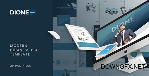 ThemeForest - Dione - Enterprise PSD Template 14556390