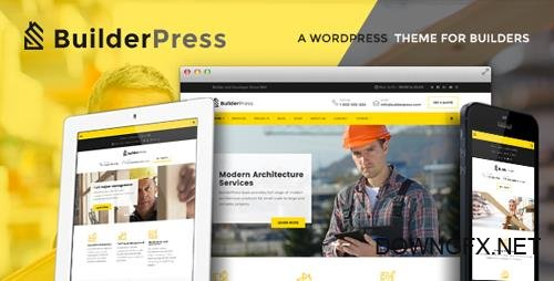 ThemeForest - BuilderPress v1.0.4 - WordPress Theme for Construction, Architecture and Interior Design Industry - 20008330