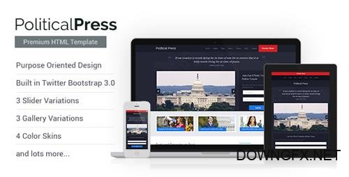 ThemeForest - Political Press - HTML Template (Update: 23 April 16) - 6322402