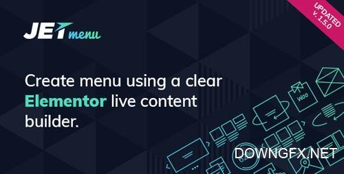 CodeCanyon - JetMenu v1.5.1 - Mega Menu for Elementor Page Builder - 20847654