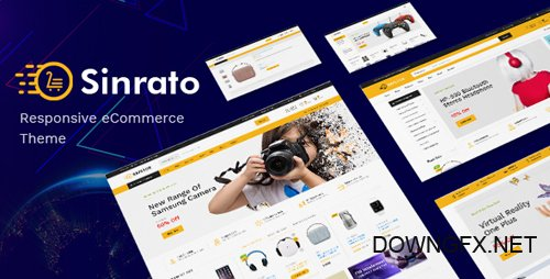 ThemeForest - Sinrato v1.0 - Mega Shop OpenCart Theme (Included Color Swatches) - 22618100