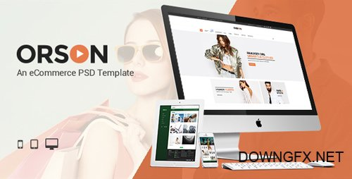 ThemeForest - Orson v1.0 - An eCommerce PSD Template - 15740216