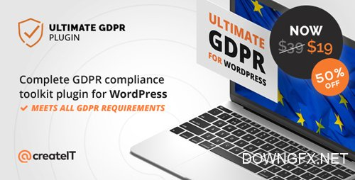 CodeCanyon - Ultimate WP GDPR v1.6.6 - Compliance Toolkit for WordPress - 21704224