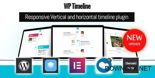 CodeCanyon - WP Timeline v3.3 - Responsive Vertical and Horizontal timeline plugin - 17664690