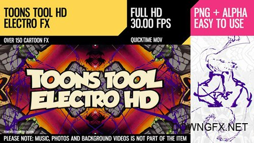 Toons Tool HD (Electro FX) 21202459