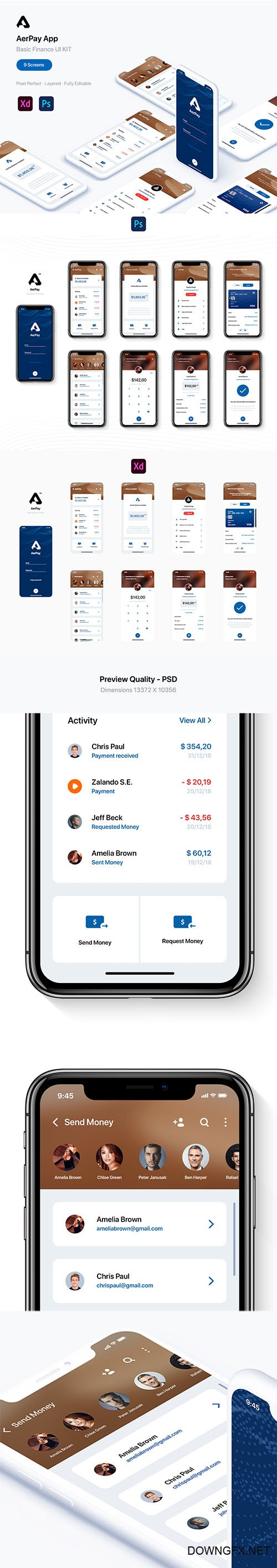 AerPay Finance UI Kit