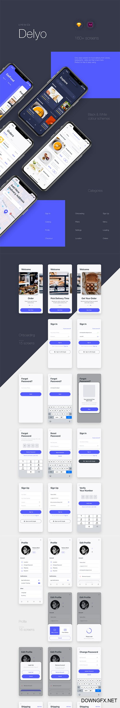 Delyo iOS UI Kit