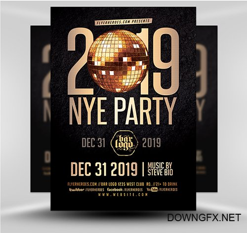 PSD New Years 2019 V3