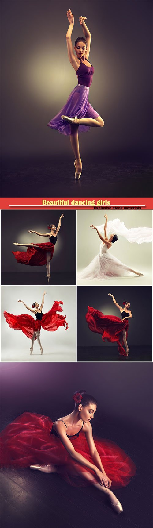 Beautiful dancing girls