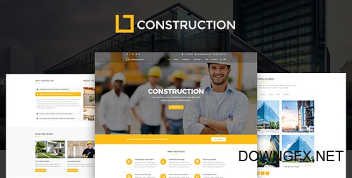 ThemeForest - Construction v1.1.0 - Business & Building Company WordPress Theme - 20273654