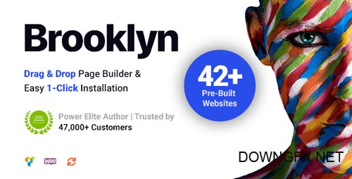 ThemeForest - Brooklyn v4.9.1.1 - Creative Multipurpose Responsive WordPress Theme - 6221179