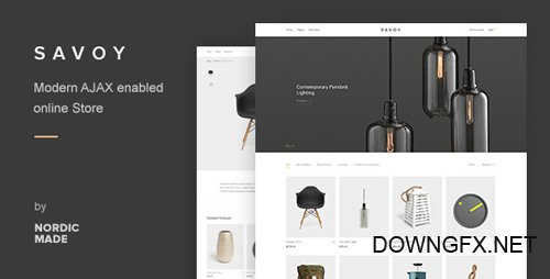 ThemeForest - Savoy v2.0.4 - Minimalist AJAX WooCommerce Theme - 12537825