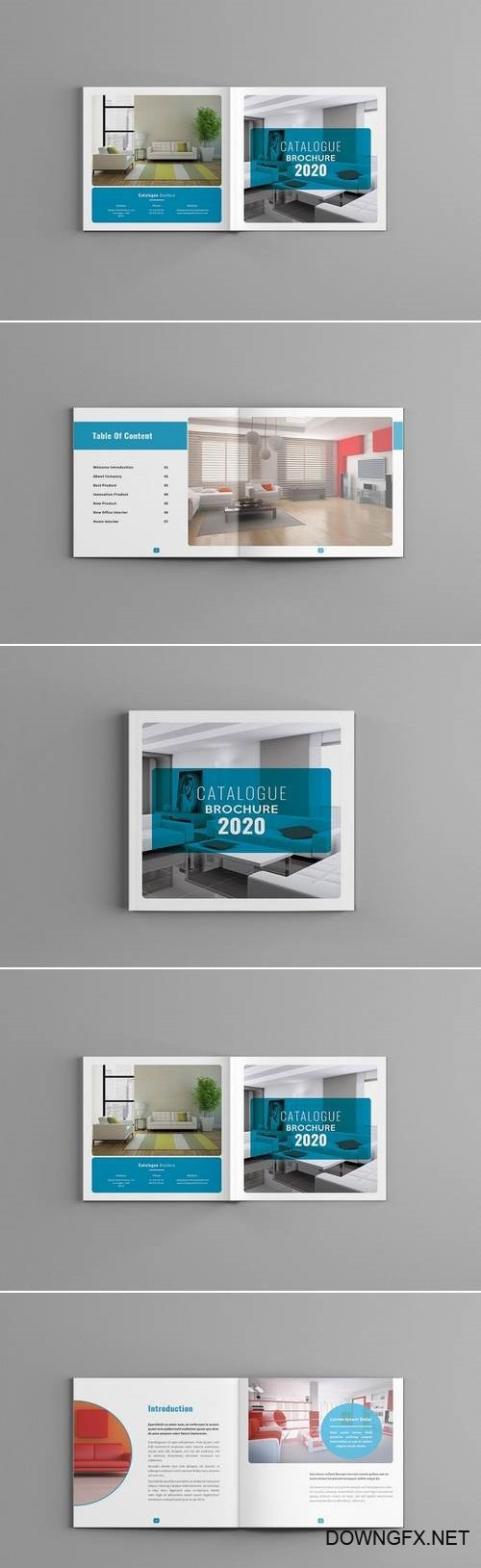 Famella - Square Catalogue Brochure Template