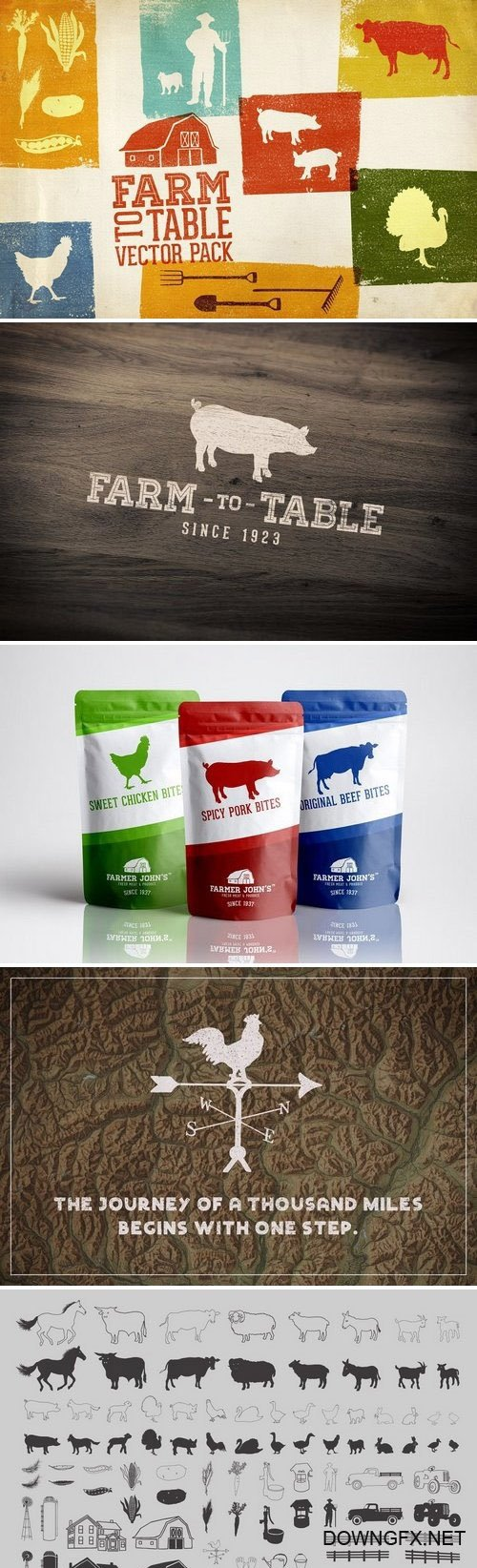 CM - Farm to Table Vector Pack Volume 1 1269645