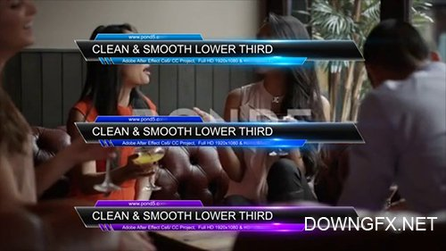 Clean & Smooth Lower Third 097817086