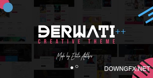ThemeForest - Derwati v1.1 - Trendy & Creative Portfolio Theme - 22367601