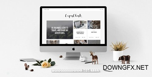 ThemeForest - CorpusChristi v1.16 - Modern Blog WordPress Theme - 17299575