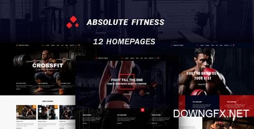 ThemeForest - Absolute Fitness v1.0.1 - multipurpose WordPress theme - 20280393