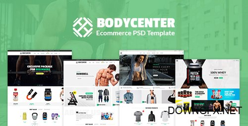 ThemeForest - Bodycenter v1.0 - eCommerce PSD Template - 21199310
