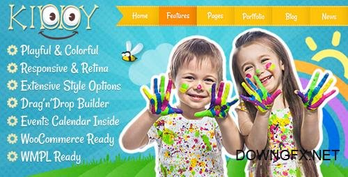 ThemeForest - Kiddy v1.1.8 - Children WordPress theme - 13025968