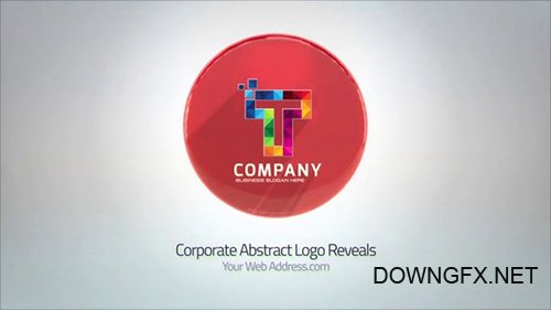 Corporate Abstract Logo Reveals 098630261