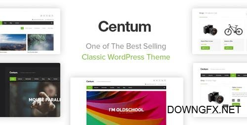 ThemeForest - Centum v3.3.10 - Responsive WordPress Theme - 3216603