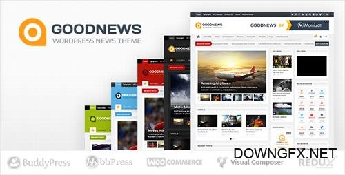 ThemeForest - Goodnews v5.9.4 - Responsive WordPress News/Magazine - 1150692