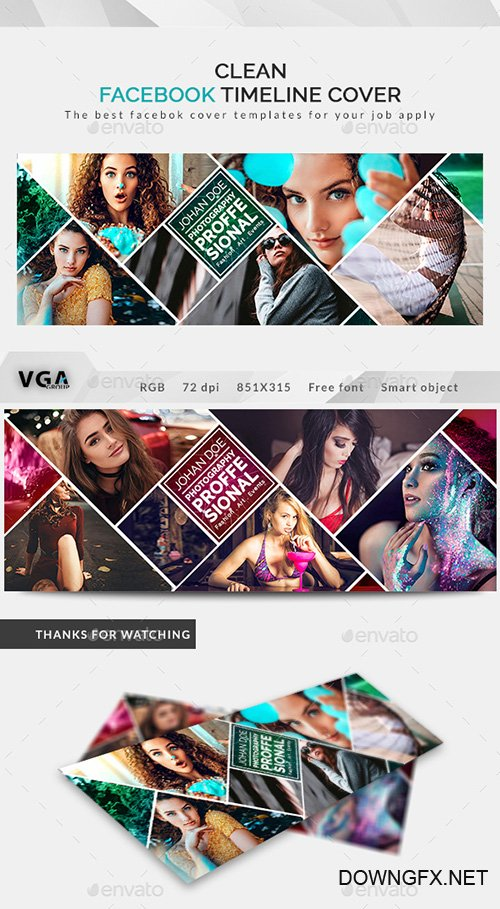 GraphicRiver - Facebook Timeline Cover 22188567