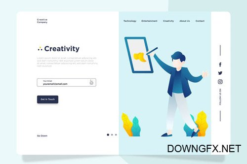 Creative - Banner & Landing Page