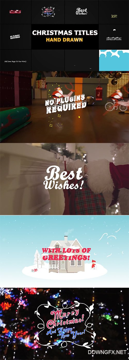 Christmas Titles And Transitions 148870