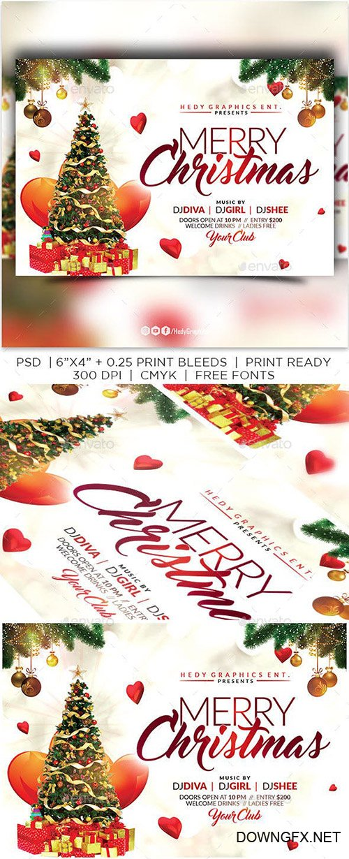 GraphicRiver - Christmas Flyer 22944251