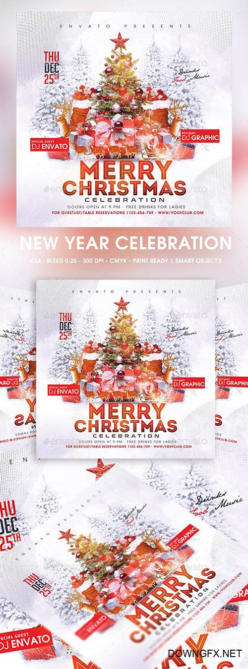GraphicRiver - Christmas 23011906