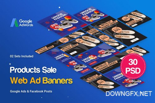 Products Sale Banners Ad - WENFCA